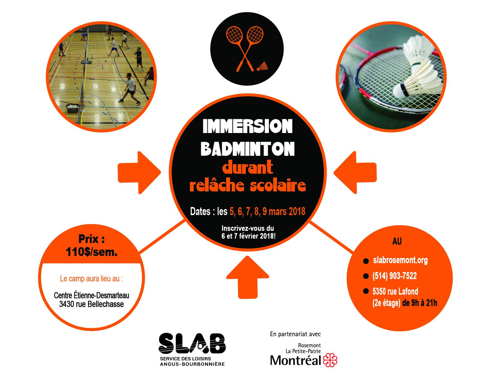 Matériel - badminton relache