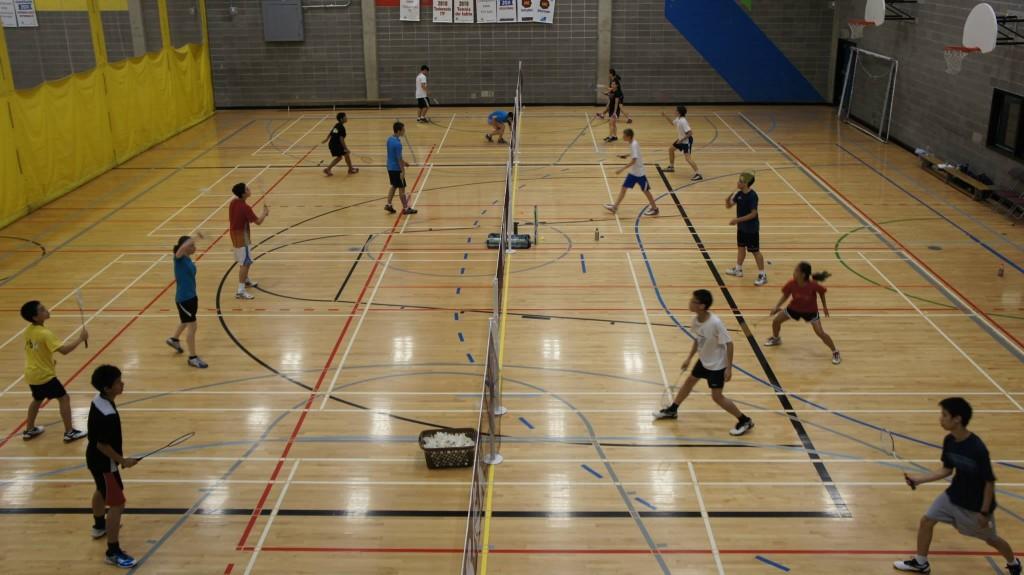 Badminton Cours été