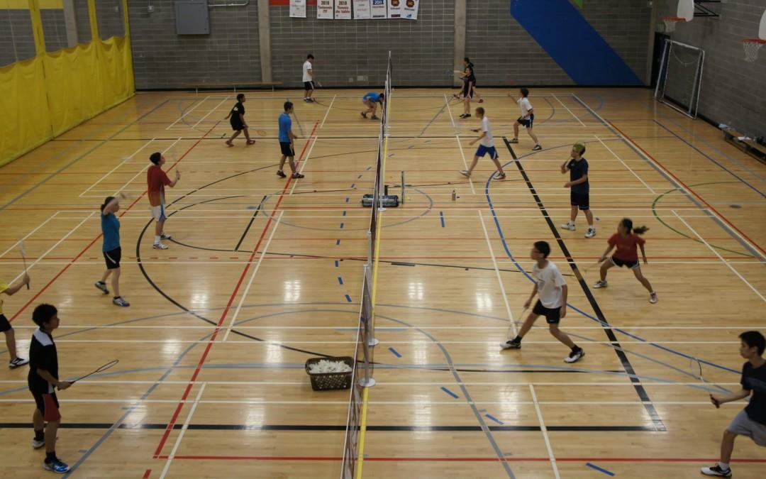 Badminton cours