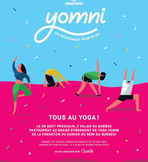 Yomni – Tous au yoga!