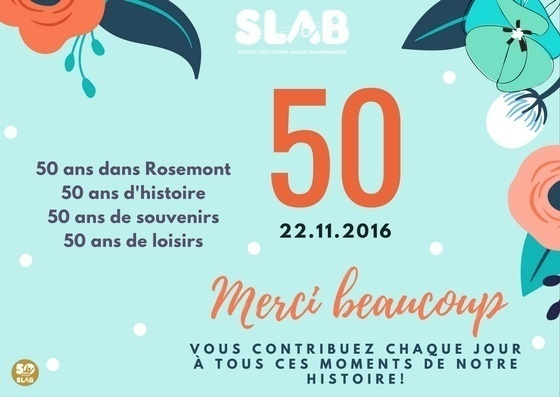 50 ans SLAB, ça se fête!