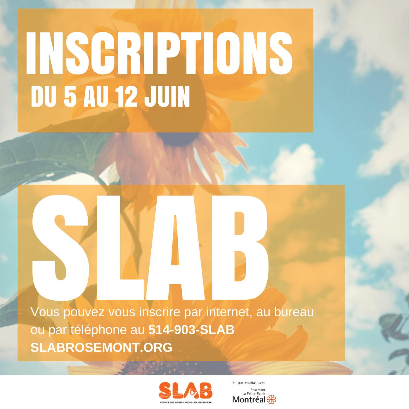 Pré et inscriptions Été 2017 SLAB (1)