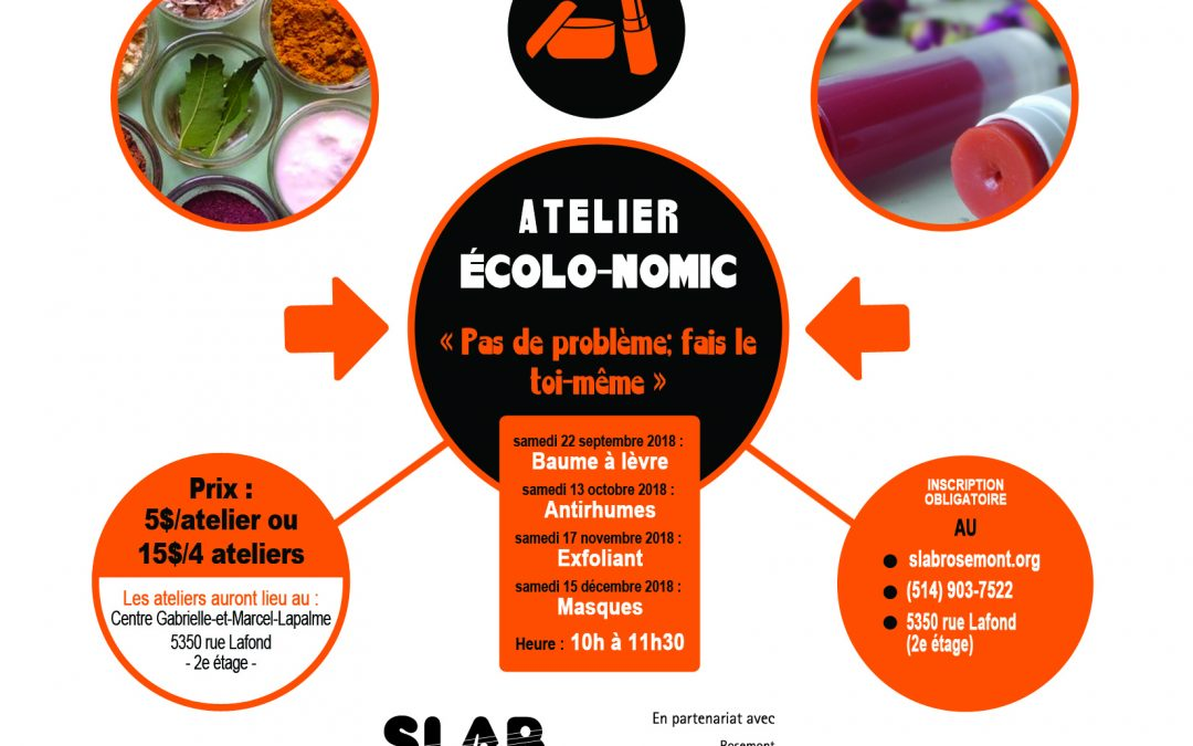 Ateliers écolo-nomic