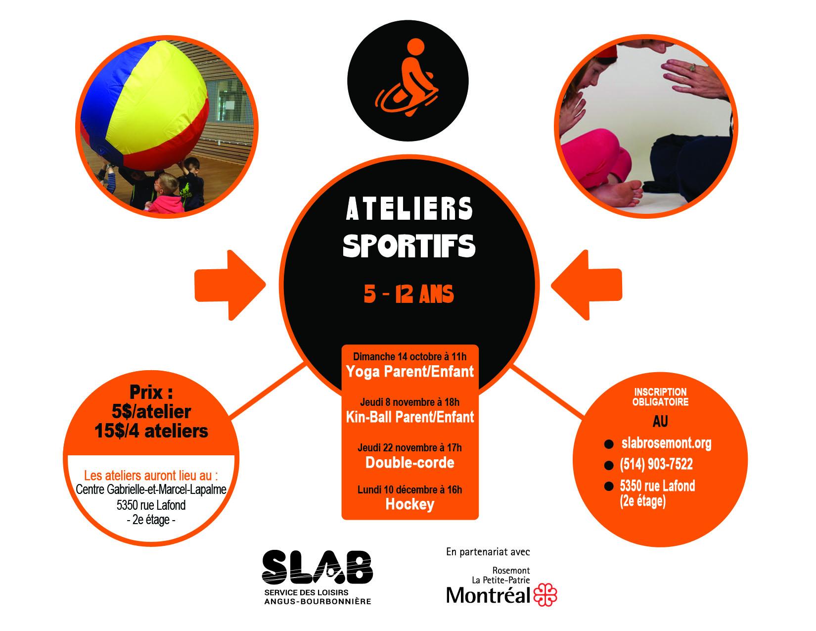 Matériel - Ateliers sportifs 5-12 ans
