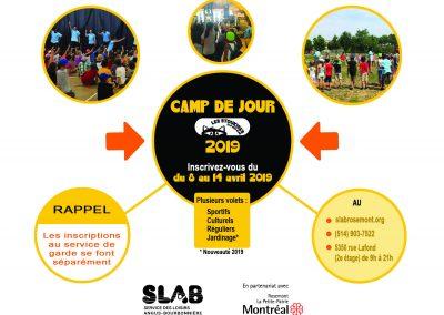 Matériel - Camp jour 2019